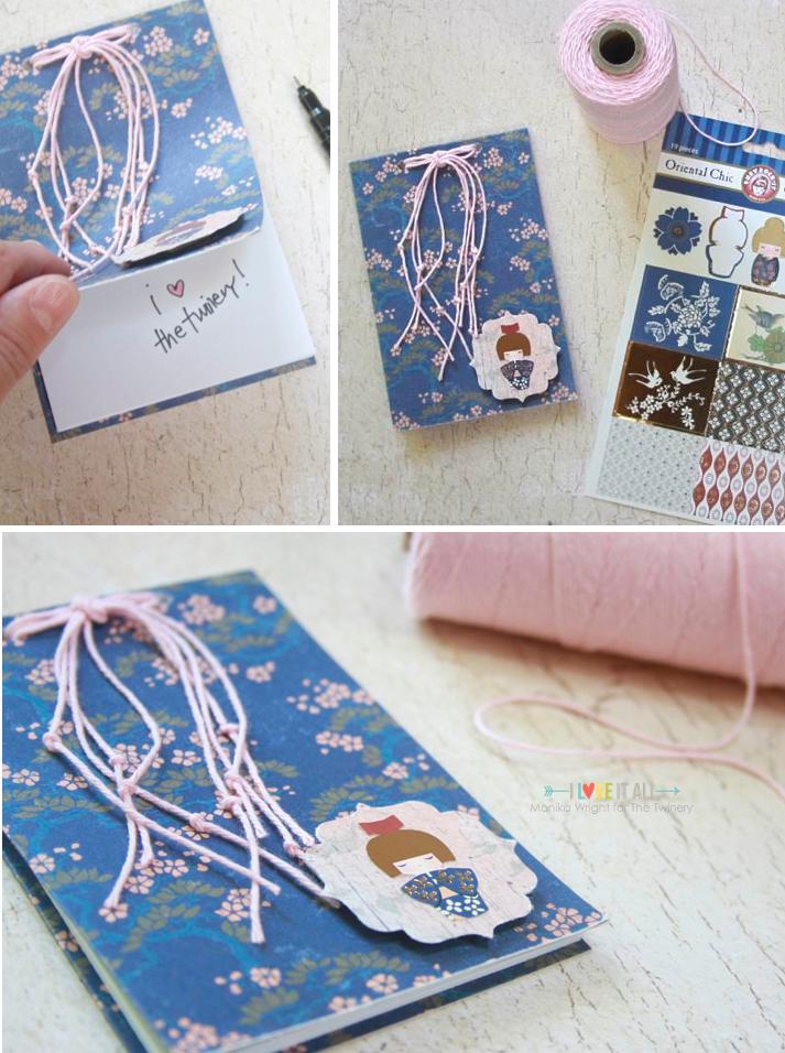 #floral #bakerstwine #crafts #notebook