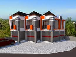 desain ruko sederhana 2 lantai   desain properti indonesia