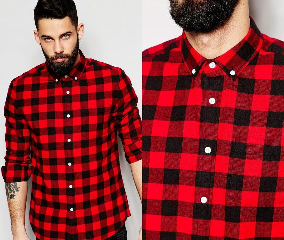 Camisa Xadrez Buffalo Plaid Masculina - Alpha 6146ac09c06