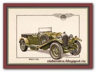 """Heritage Crafts Серия: Cars """"CBT116 1927 Bentley"""""""