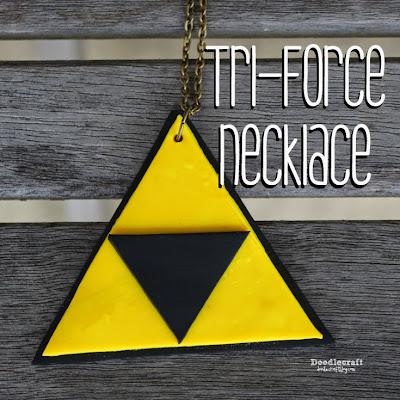 http://www.doodlecraftblog.com/2015/09/tri-force-pendant-necklace.html