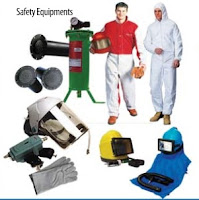 Safety Equipment, helmet, blast suits, gloves, air filter
