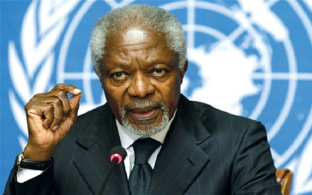 Legalise cannabis – Kofi Annan