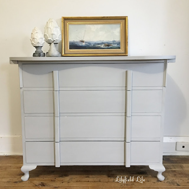 hand painted drawers by Lilyfield Life