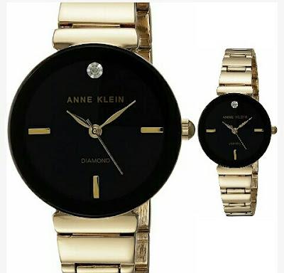 Anne Klein's Ladies Watch - Fashionable Gold-Toned Wristwatch