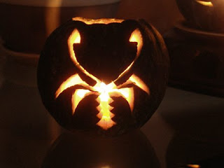 scorpion pumpkin light