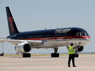 Siêu tàu bay của tỷ phú Donal Trump