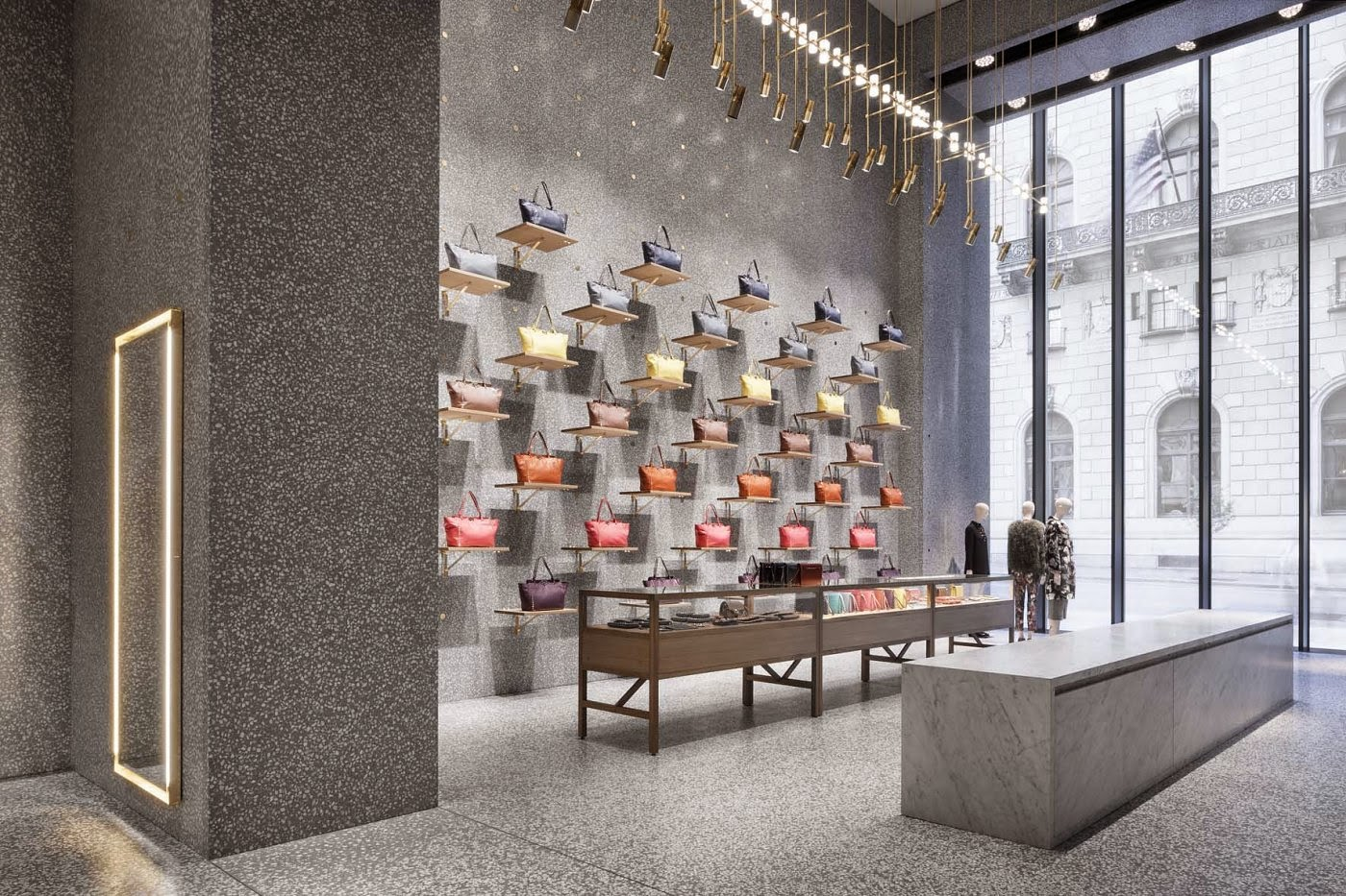Valentino Flagship Store, Nueva York, por David Chipperfield