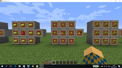 minecraft aranyrépa crafting