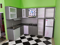 furniture interior semarang - kitchen set minibar 03