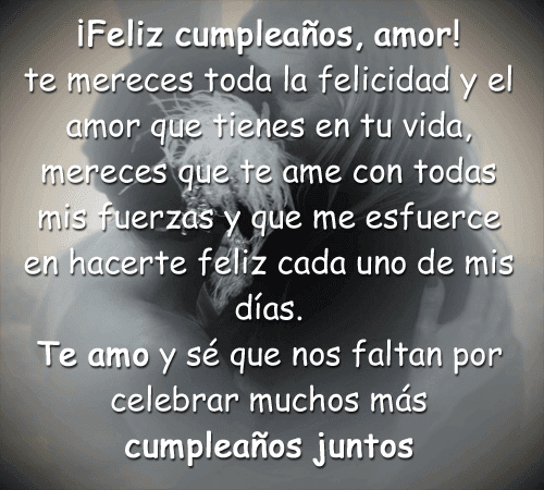 Blog De Loretta Frases De Feliz Cumpleanos Amor