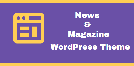 News and Magazine WordPress Theme