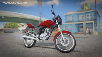 GTA SA - Honda Fan 150 ESDI 2