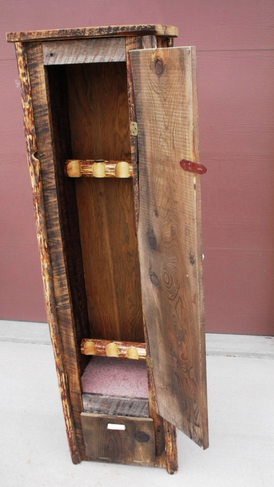 Solid Wood Gun Cabinet Plans PDF Woodworking