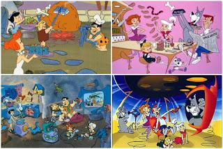 Activitati acasa- Flintstone versus Jetsons