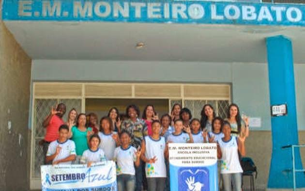 85860173b NOVA IGUAÇU - A Escola Municipal Monteiro Lobato, em Nova Iguaçu, quer se  tornar uma escola totalmente inclusiva. Com mais de dois mil alunos e  duzentos ...