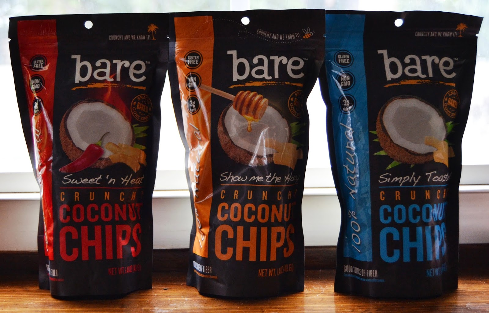 Bare Crunchy Coconut Chips