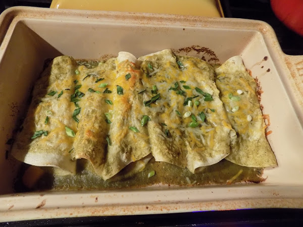Quick and Easy, even and Aunt can do it! (Weeknight butternut squash Enchiladas)