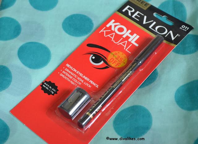 Revlon Kohl Kajal Eyeliner Pencil 011 Black Review