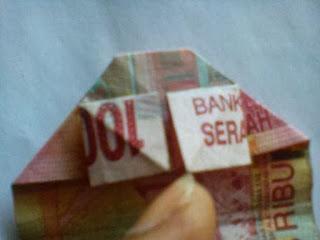 Gambar kerajinan origami uang kertas_02