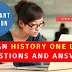 Indian History One Liner  questions and answers
