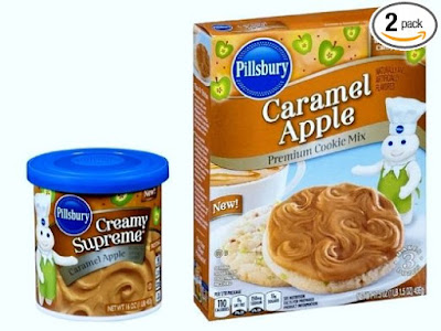 Pillsbury Caramel Apple Cake Mix and Frosting