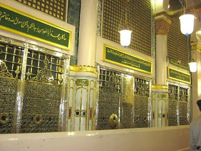 makam rasulullah dekat masjid nabawi