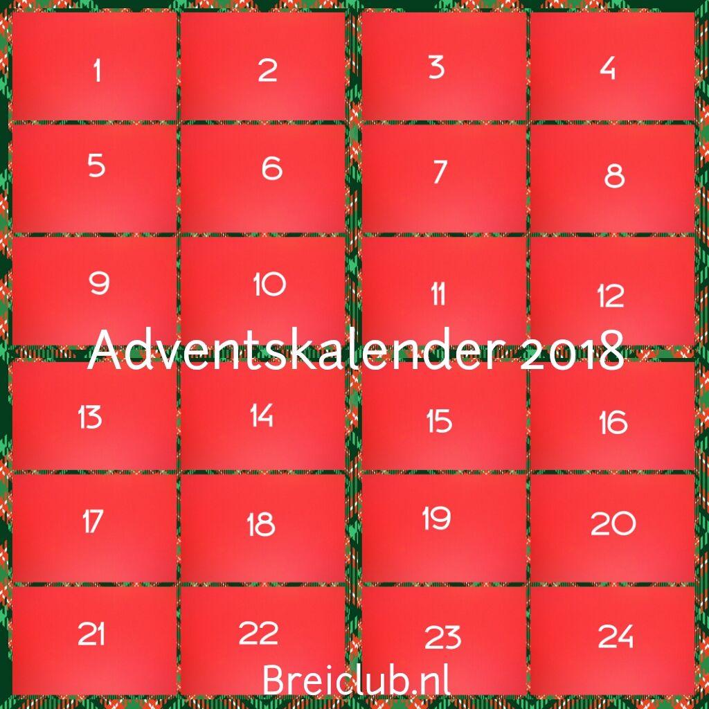 De Breimeisjes Adventskalender 2018 Dag 7 én Kransjes Haken