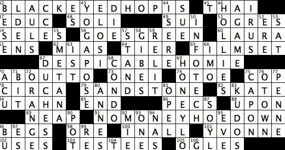 Ulterior motives crossword