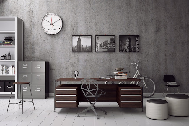 Beautiful Home Office and Workspace with Wonderful Arrangement