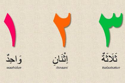 Belajar Angka Dalam Bahasa Arab 1 Sampai 100 lengkap dengan tulisan arabnya