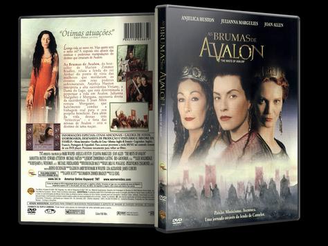 Capa DVD As Brumas de Avalon