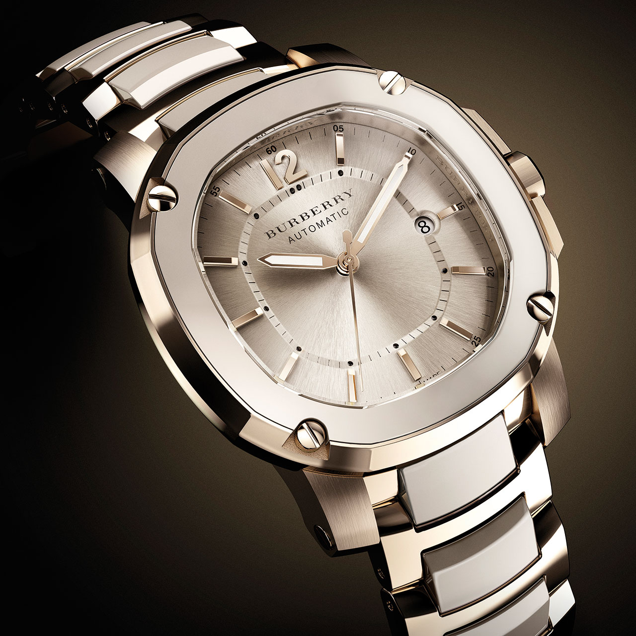 Burberry The Britain Limited Edition Trench Ceramic Automatic Watch