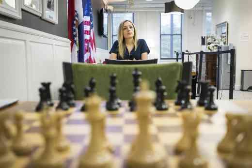 La championne d'échecs des USA 2016, Nazi Paikidze-Barnes - Photo © Lennart Ootes