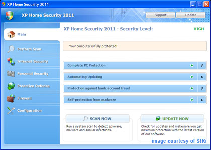 Duck Soup: Removing the Windows XP Security 2011 malware