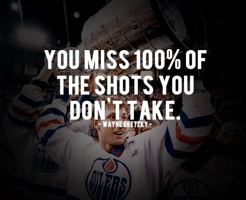 quotes sports inspirational quote athlete take gretzky wayne shots tweet don
