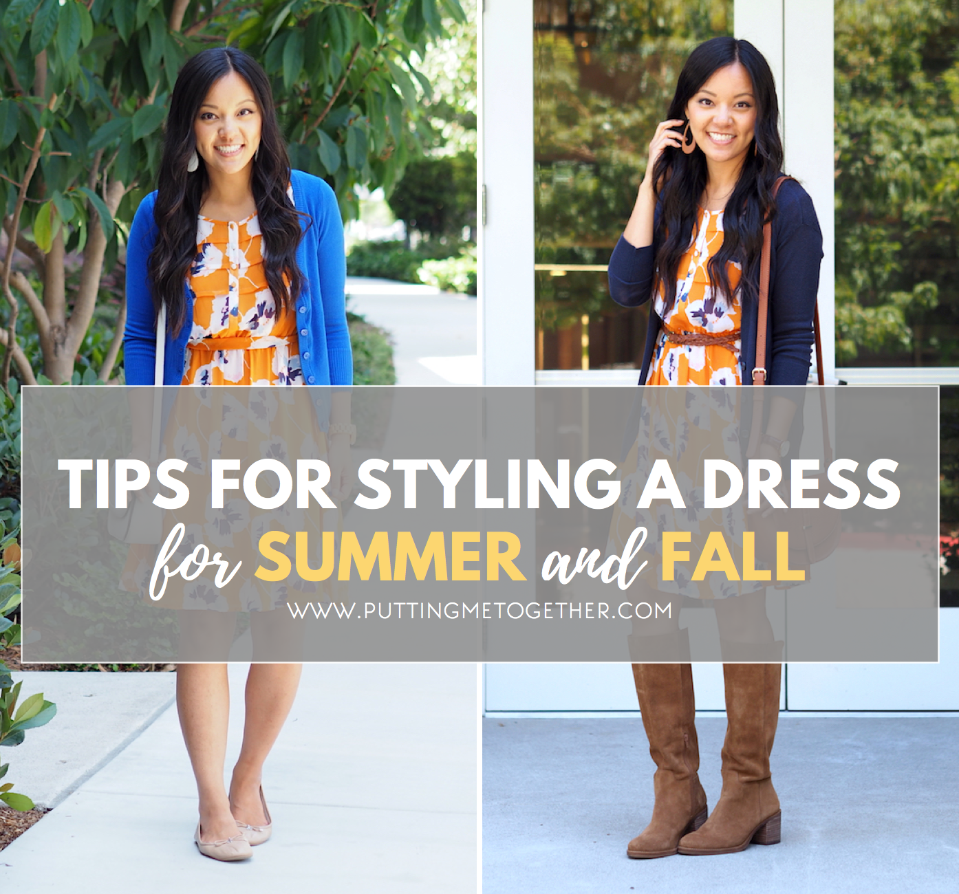 Wearing a Summer Dress in the Fall