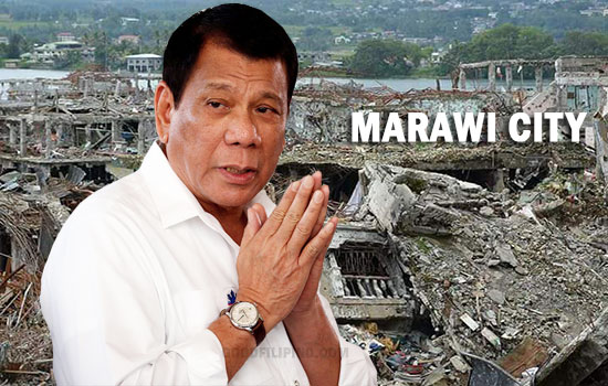 Duterte takes full responsibility for Marawi devastation