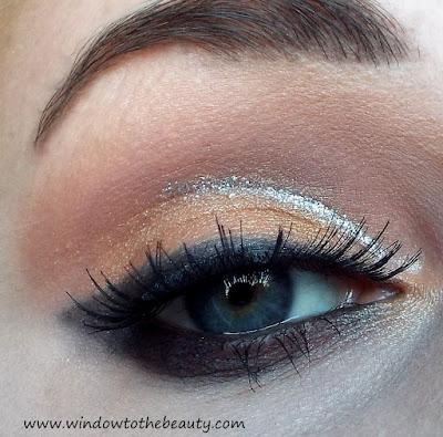 pomarańczowo brzoskwiniowy makijaż