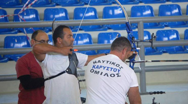 Το Ναύπλιο στέλνει στην Εθνική Ομάδα αθλητή Τοξοβολίας