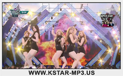 [Performance] WANNA.B - Attention @ M! Countdown 2015.08.27
