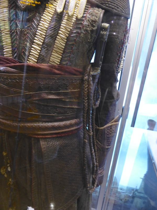 Assassins Creed Aguilar costume detail
