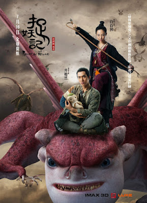 Monster Hunt 2015 HDRip 720p Subtitle Indonesia
