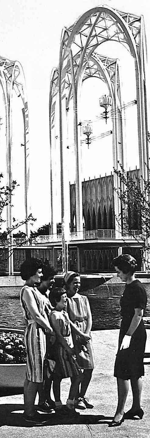 1962 Seattle World's Fair photograph