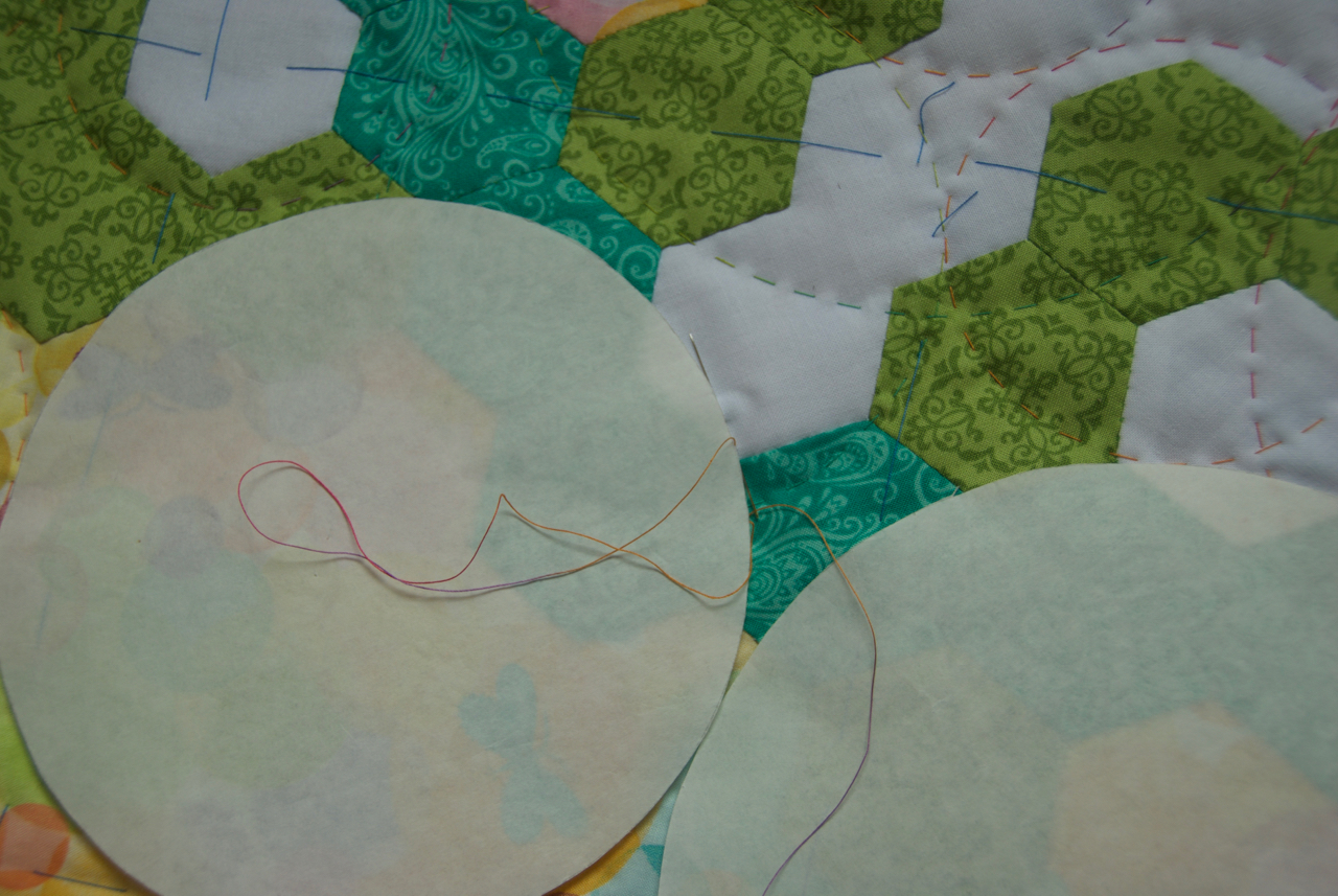 Quilt Art by Olena Pugachova: Three Ways I Used Freezer Paper in One Quilt