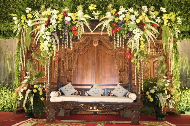 dekorasi pernikahan jogja modern terbaru