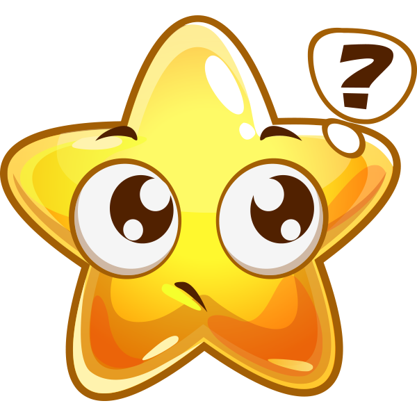 Wondering Star Icon