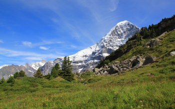 Wallpaper: Nature - Mountain The Eiger