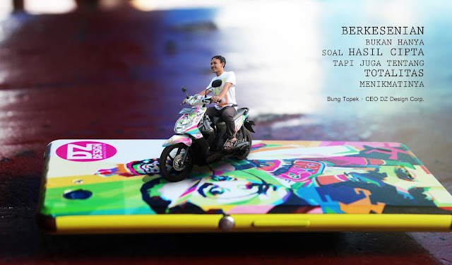 Miniatur Photography Bung Topek - CEO DZ Design Corp.