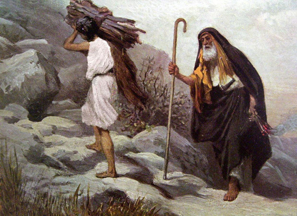 abraham and isaac # 3